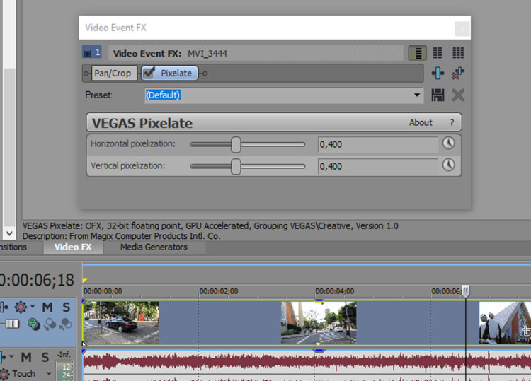 How to simulate a VHS look using VEGAS Pro 14 – by Mateus Ferreira