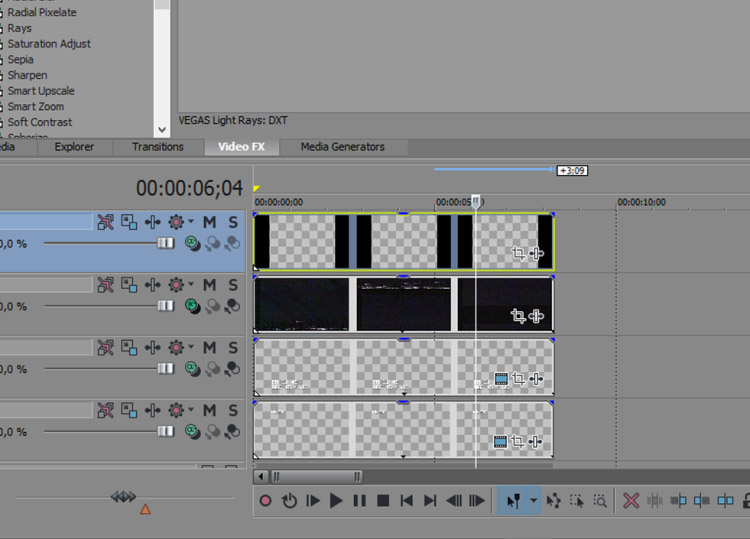 How to simulate a VHS look using VEGAS Pro 14 – by Mateus