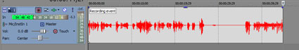 4. step to recording a narration