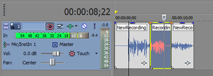 5. step to recording a narration