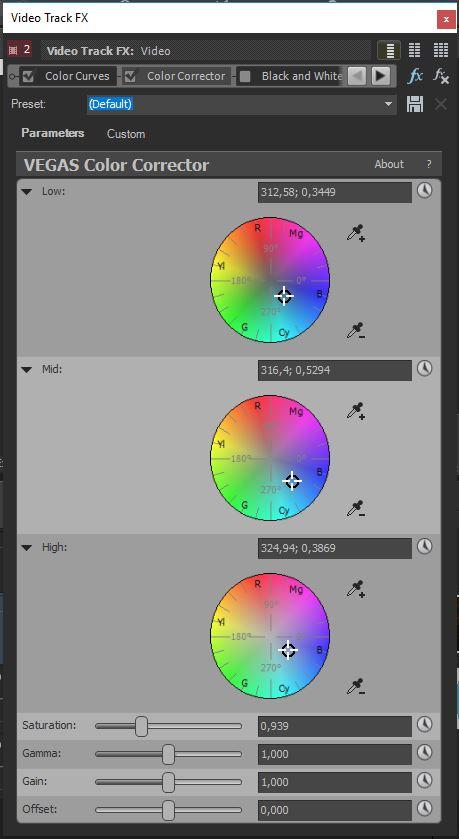 Color-Correction in VEGAS Movie Studio Platinum - VEGAS Magazine