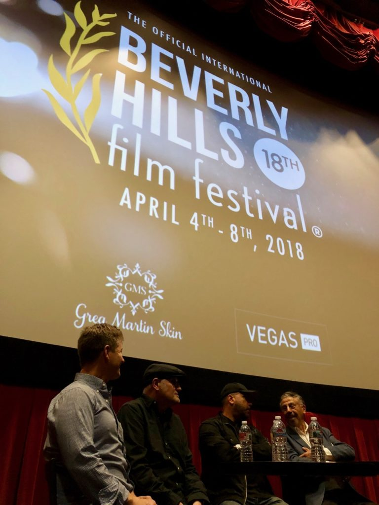 panel discussion relevant technology in filmmaking at beverly hills film festival