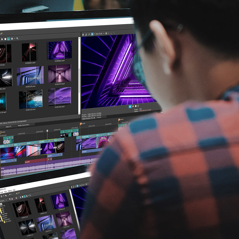 Continuity editing in films with VEGAS Creative Software